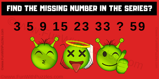 Which will be the missing number in this series? 5, 10, 17 , ?, 37, 50
