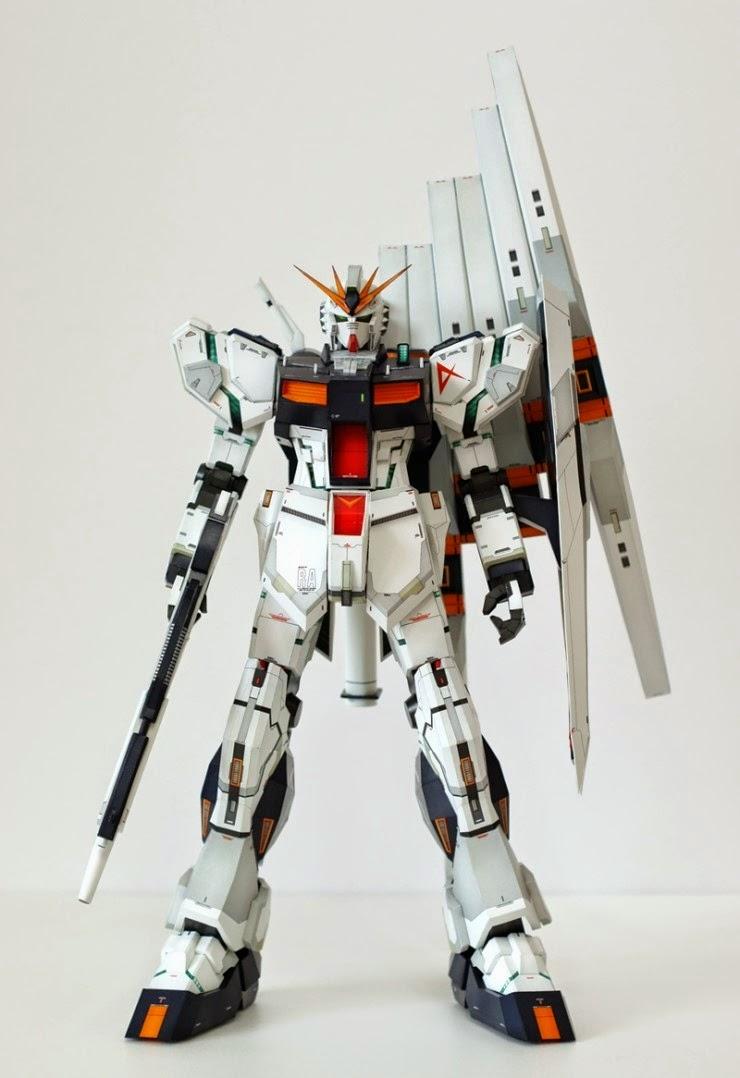 New Type Papercraft Rx 93 V Gundam Ver Ka Model By Kyuri