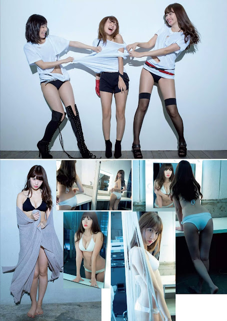 AKB48 Weekly Playboy 週刊プレイボーイ Dec 2015 Photos 2
