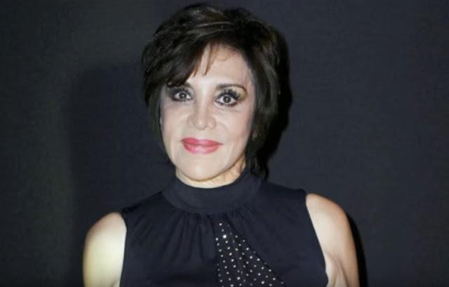 A atriz Maribel Fernández