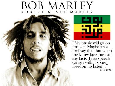 """Biografi  Bob Marley   Bob Marley adalah seorang pahlawan dalam rasa mitologi klasik. Keberangkatannya dari planet ini datang pada pandangannya tentang """"Satu dunia, satu cinta"""" (Vision of One World One Love) yang diilhami dari kepercayaannya dalam Rastafarian. Tour terakhir Bob Marley dan The Wailers pada tahun 1980 menarik pendengar terbesar pada waktu itu untuk segala musik di Eropa. Kapten Norval Sinclair Marley adalah seseorang yang berperawakan kecil. Ia adalah seorang pengawas  tanah perusahaan Crown Lands, milik PemerintahanInggris yang telah menjajah Jamaika sejak tahun 1660 an yang terletak sebelah utara pulau itu. Pangkat yang disandangnya ia dapat saat menjadi komandan markas di Resimen British Hindia Barat.   Suatu saat ia bertemu dengan Cendella, seorang wanita pribumi yang telah mamikat hatinya pada saat dia  sedang berkunjung ke distrik Nine Miles. Hubungan mereka menjadi pergunjingan warga setempat karena  Ras. Pada Mei 1944 cedella mengejutkan keluarganya karena hamil. Sehingga pada hari jumat dilaksanakanlah pernikahan antara Norval dengan Cendella dan sehari setelah pernikahan mereka, Cendella diungsikan ke Kingston agar tidak tercorek namanya sebagai ahli waris keluarganya.  Dan akhirnya Cendella melahirkan seorang anak yang diberi nama Robert Nesta Marley yang lahir pada  pukul 2.30, Rabu Februari 1945 dengan"""