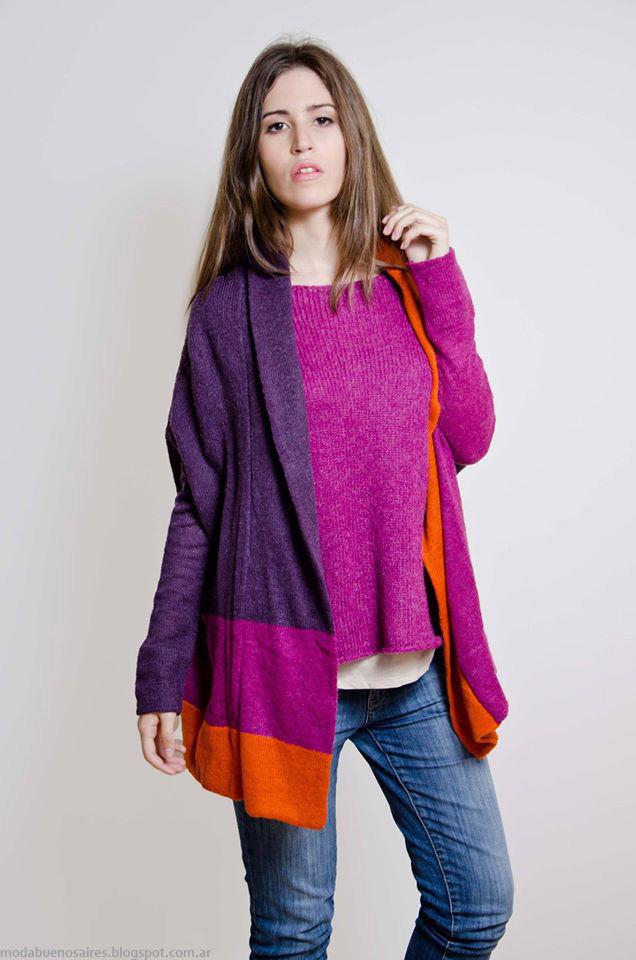 Moda tejidos otoño invierno 2016 Lares sweaters.
