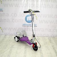 Skuter Pedal Ganda PMB QY11AP Elite Purple