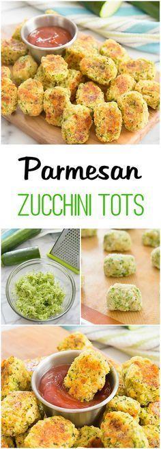PARMESAN ZUCCHINI TOTS #parmesan #zucchini #tots #healthyrecipes #healthyfood #healthysnacks