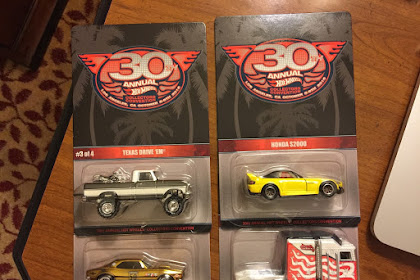 Laporan Exclusive Souvenir Car 30th  Hot Wheels Collector Convention, L.A, USA.