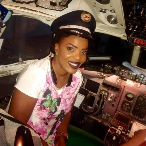 empress njamah pilot
