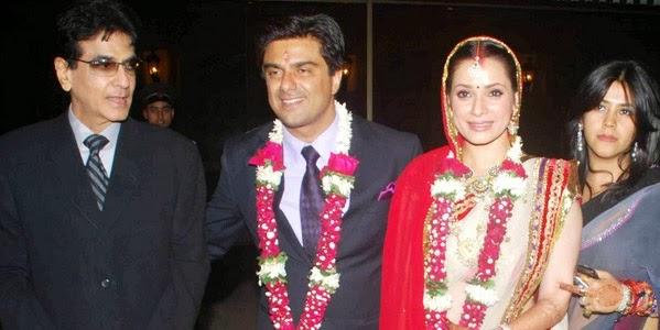 Samir Soni and Neelam Kothari Wedding Pics ~ Famous ...  Samir Soni and ...