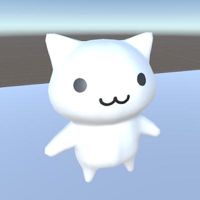 ネコのキャラクター画像