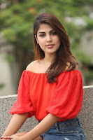 Rhea Chakraborty in Red Crop Top and Denim Shorts Spicy Pics ~  Exclusive 284.JPG