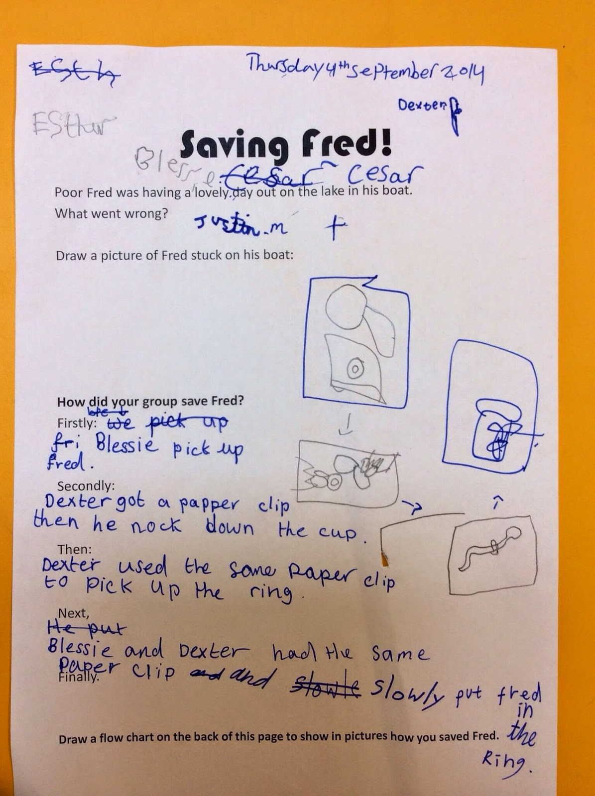 St Clare S Class Blog Saving Fred