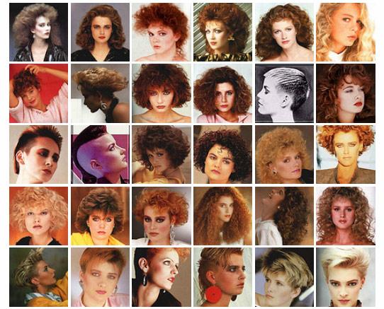 Sensacional peinados años 80 Fotos de tutoriales de color de pelo - MODA DE LOS AÑOS 80: PEINADOS