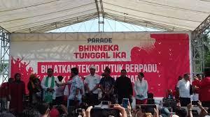 Aksi Bhineka Tunggal Ika Salah Kaprah dan Menentang Presiden
