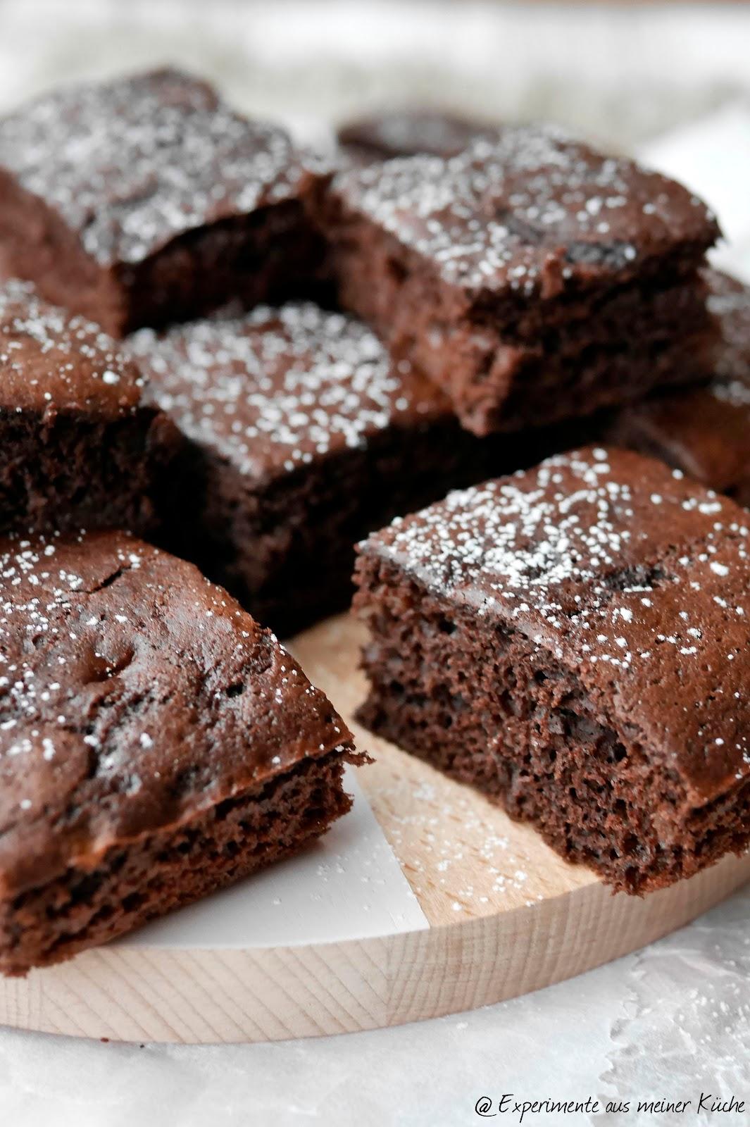 Experimente Aus Meiner Kuche Kalorienarme Brownies