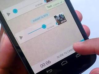 Cara Mengirim Pesan Suara Aneh dan Unik di WhatsApp