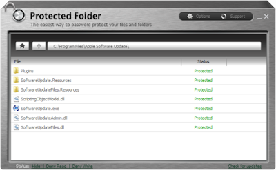 Screenshot IObit Protected Folder 1.3 Full Version