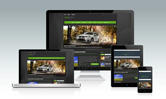 Autoportal-Blogger-Template