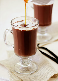 Hot chocolate Caranel