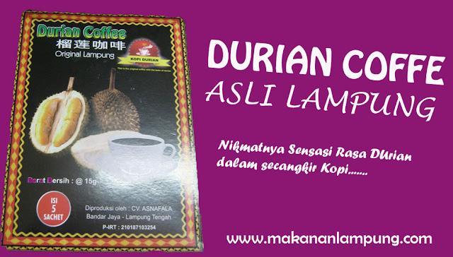 kopi durian, kopi duren, kopi durian lampung