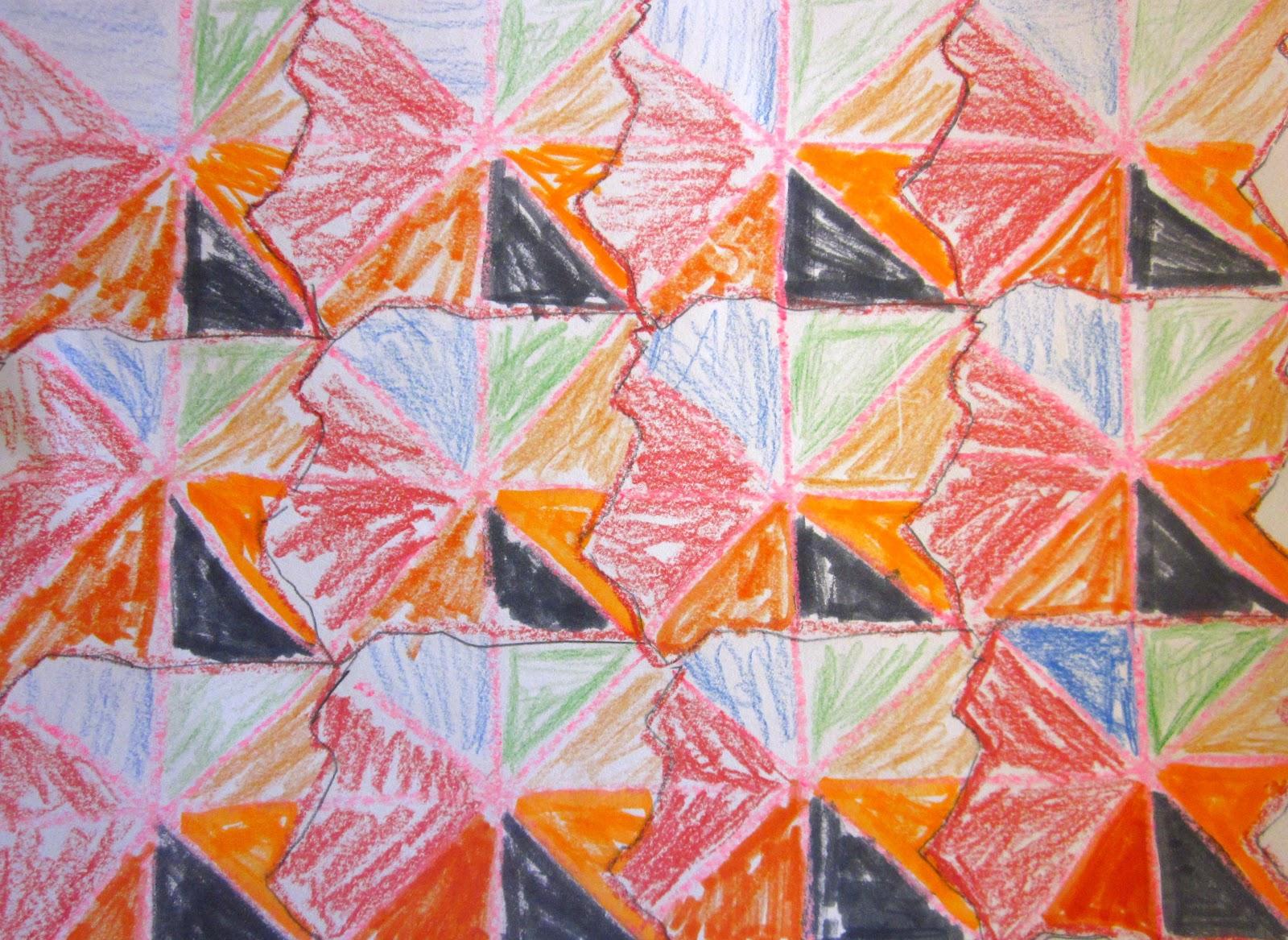 Art Is Basic Art Teacher Blog Tessellations 3rd Grade