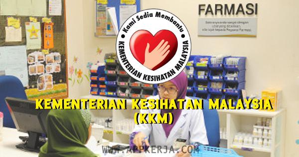 Jawatan kosong di Kementerian Kesihatan Malaysia (KKM) - 19 April 2018