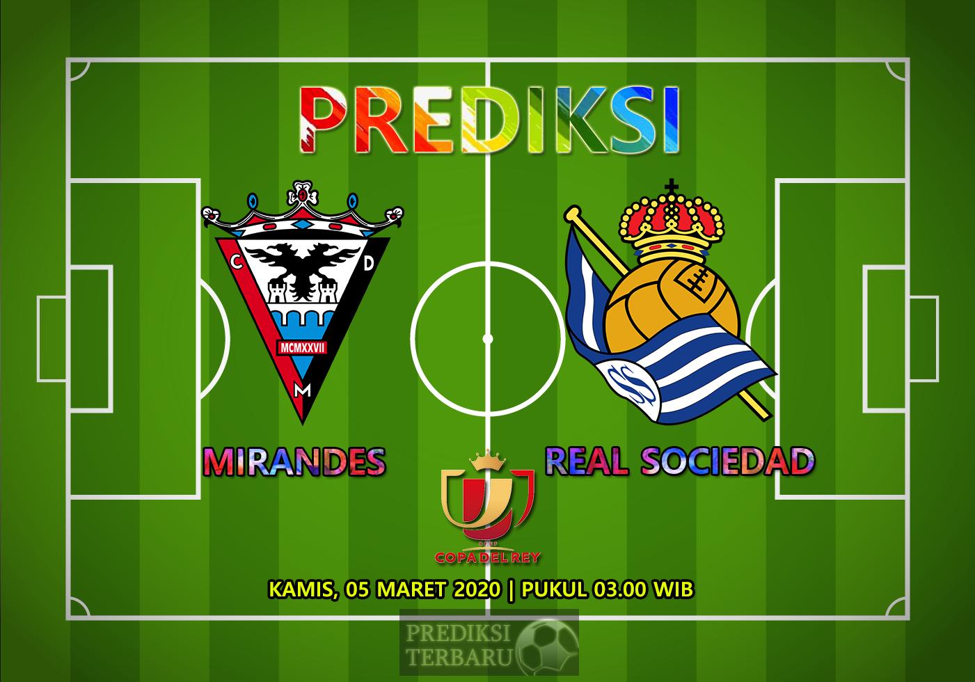 Prediksi Mirandes Vs Real Sociedad Kamis 05 Maret