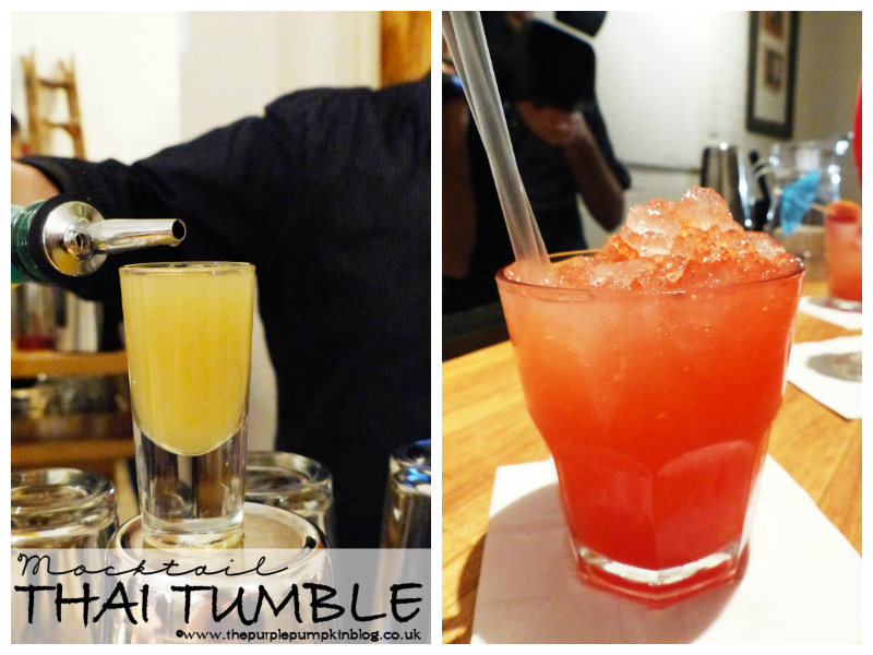 Thai Tumble - Mixology Mocktail Masterclass