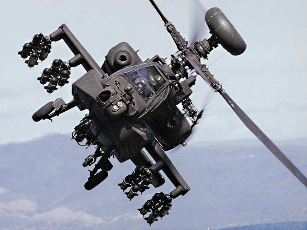 How Apache Helicopters Work