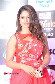 Poonam Bajwa Pictures in Red Long Dress at Mirchi Music Awards South 2015 ~ Bollywood and South Indian Cinema Actress Exclusive Picture Galleries