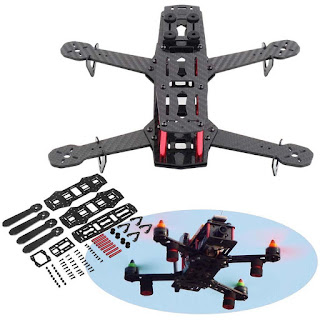 100% Kit Full Frame Carbon Fiber Emax 250mm FPV Quadcopter/4 Axis Multicopter EH