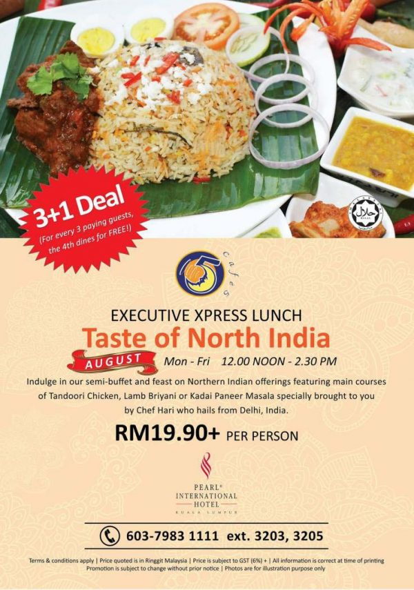 Executive Xpress Lunch: Taste of North India