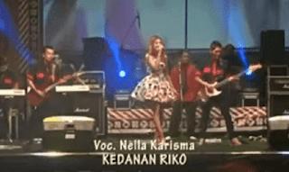Lirik Lagu Kedanan Riko - Nella Kharisma
