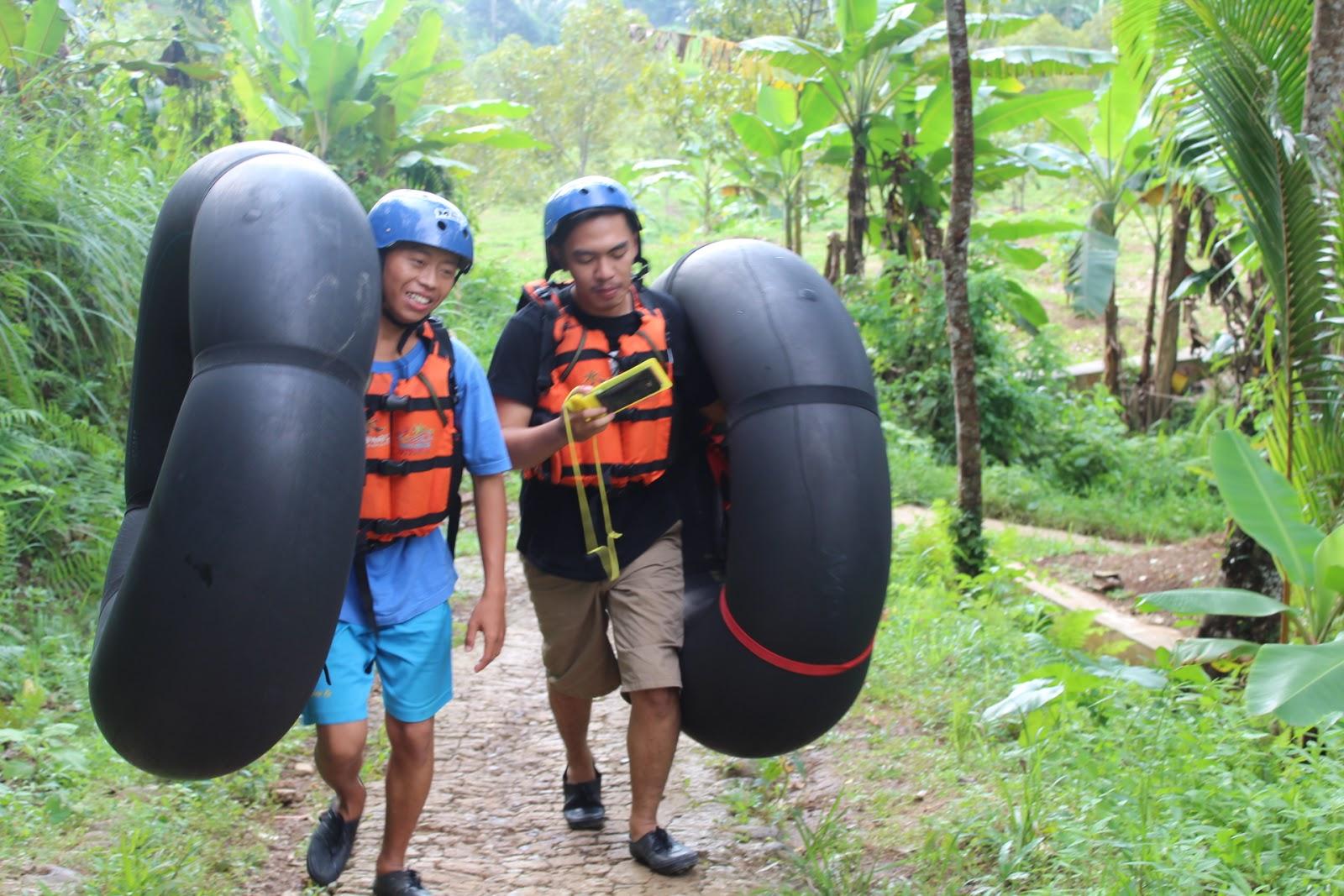 Explore Serang Uji Adrenalin Di Banten River Tubing