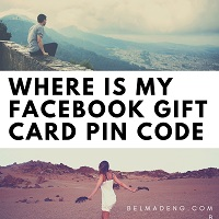 Where Is My Facebook Gift Card PIN Code - How To Redeem Facebook Game Card Using PIN Code