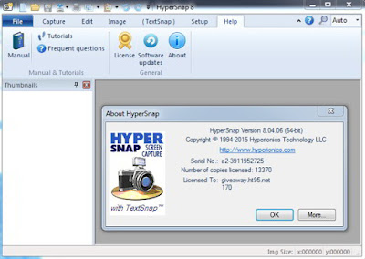 HyperSnap 8.13.05 + Portable