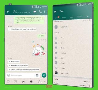 BBM MOD whatsApp Apk 3.3.3.39 Unlimited Mod Terbaru
