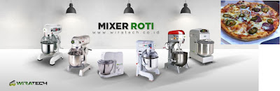 mixer roti pizza bunga