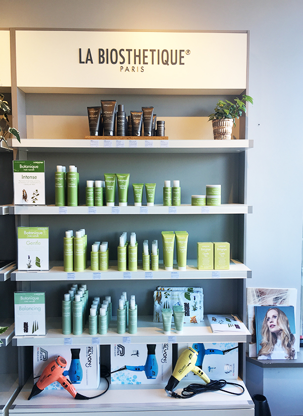 La Biosthetique products at Eliane Hair & Spa