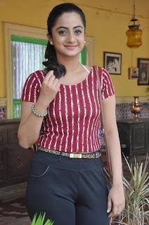 Actress Namitha Pramod Stills on talabbayi sets  0011.jpg