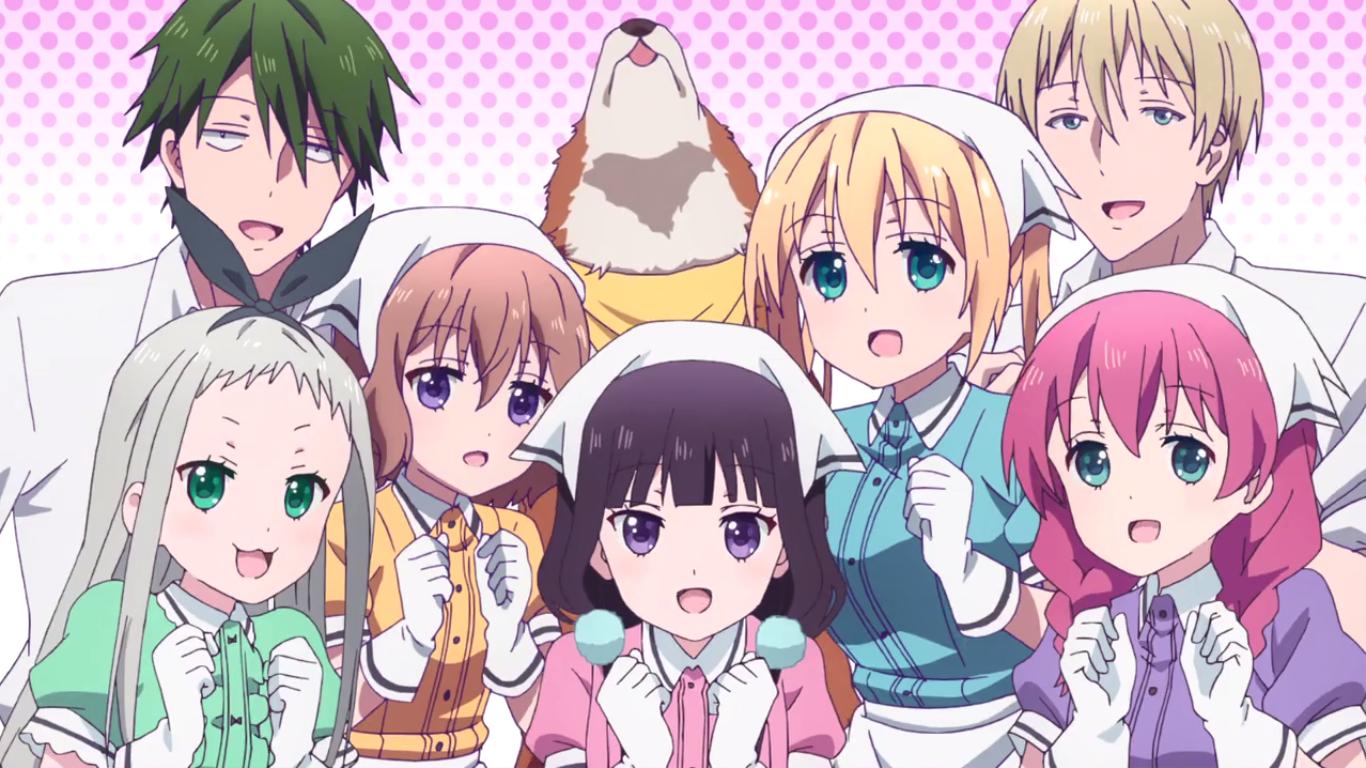 Blend s review cafe 5 karakter anime review