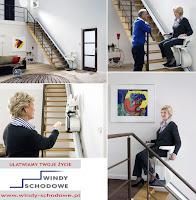 Nowe krzesełko schodowe HomeGlide na schody proste dla osób niepełnosprawnych