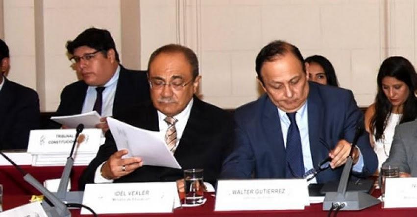 MINEDU: Ministerio de Educación es incorporado en la Comisión de Alto Nivel Anticorrupción - www.minedu.gob.pe
