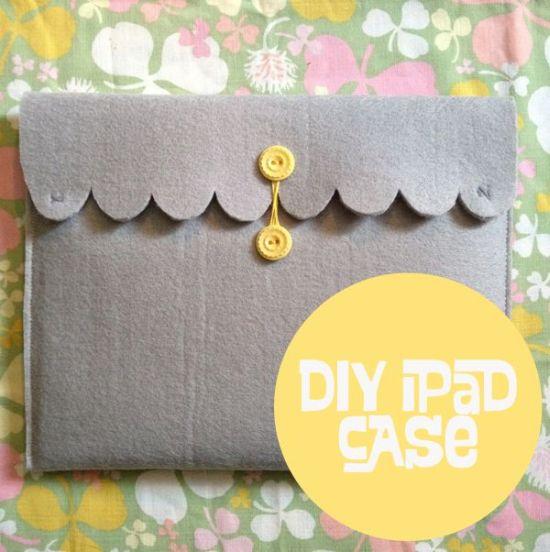 DIY Christmas gift idea - pretty ipad case