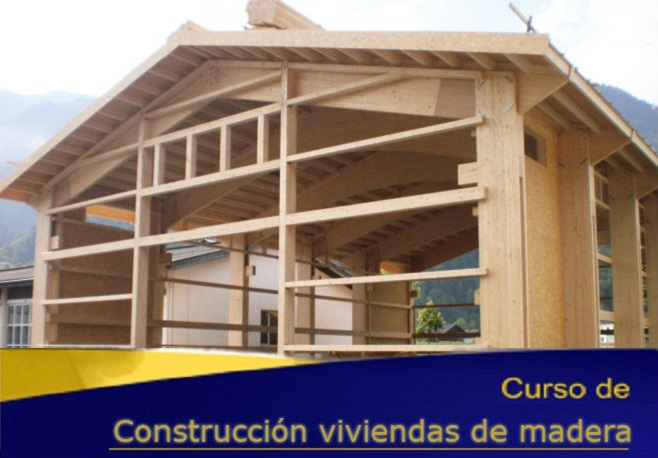 Construcción de vivienda de madera