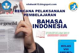 Rpp Bahasa Indonesia Kelas Viii Smp/Mts Revisi 2017