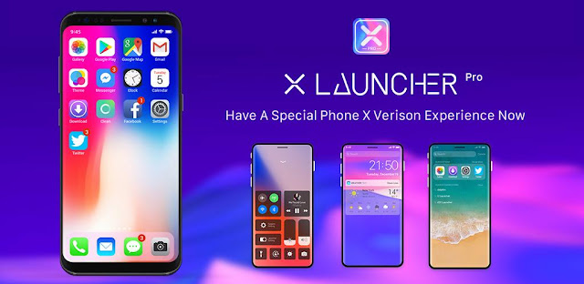 X Launcher Pro: PhoneX Theme, IOS Control Center V2.3.5 [Paid]
