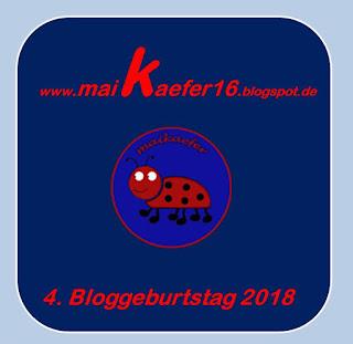 Maika feiert 4. Bloggeburtstag - ich bin dabei!