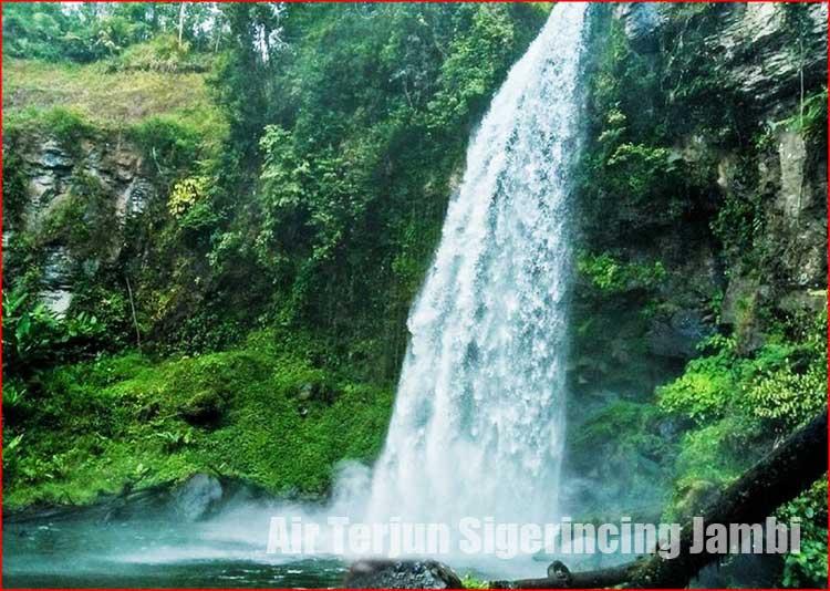Foto Air Terjun Sigerincing Jambi