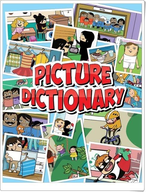 """""""Picture Dictionary"""" de Inglés de 1º de Primaria"""