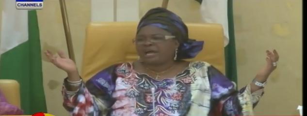 patience jonathan speech missing chibok girls
