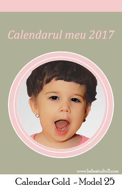 calendar A4 GOLD